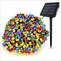 Solar 200 LED Multicolor Decorative String Lights