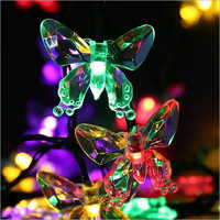 Solar Butterfly Shaped String Waterproof Light