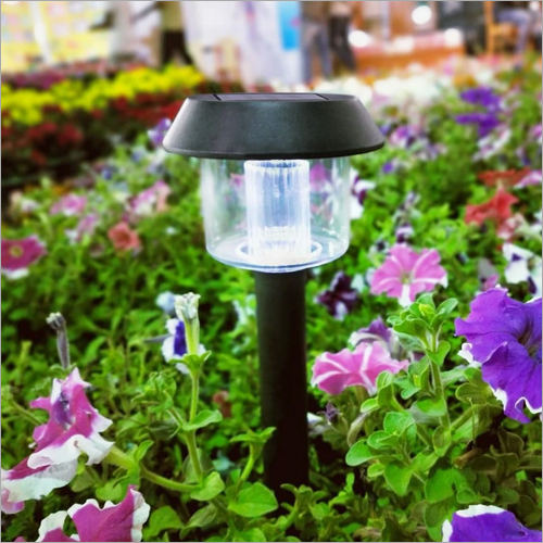 Solar Waterproof Path Lamp ( Cool White)