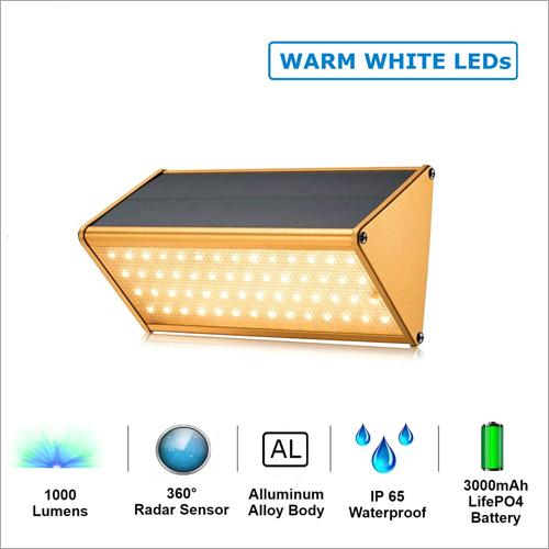 56 LED Solar  Motion Sensor Lamp (Warm White)