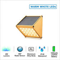 20 LED Solar Motion Sensor Lamp (Warm White)