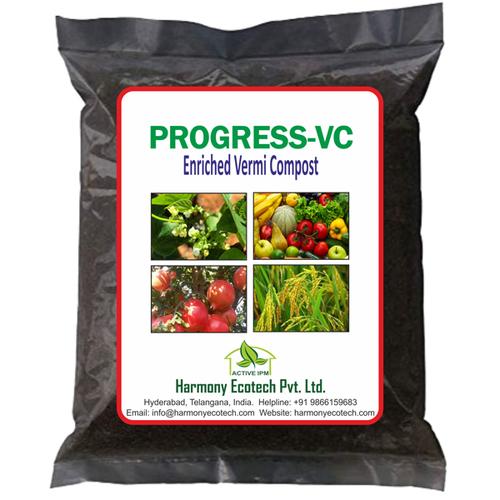 Progress-VC Enriched Vermi Compost