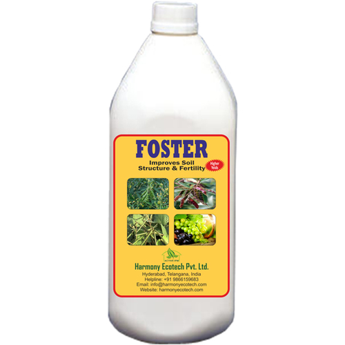 Foster Improves Soil Structure & Fertility