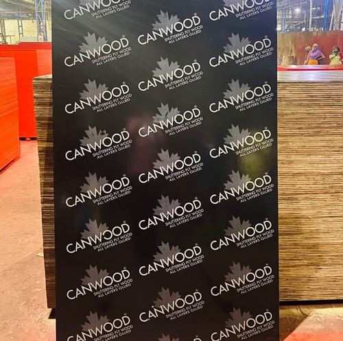 Canwood Black Film Faced Shuttering Plywood