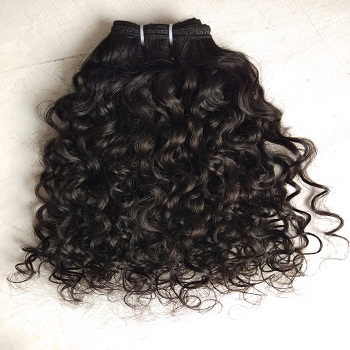 Indian Human Hair Remy Curly Human Hair Extension