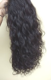 Human Virgin Curly Full Lace Wig