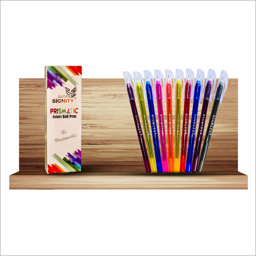 Prismatic Colors Ball Pens