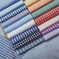 Checked Shirting Fabric