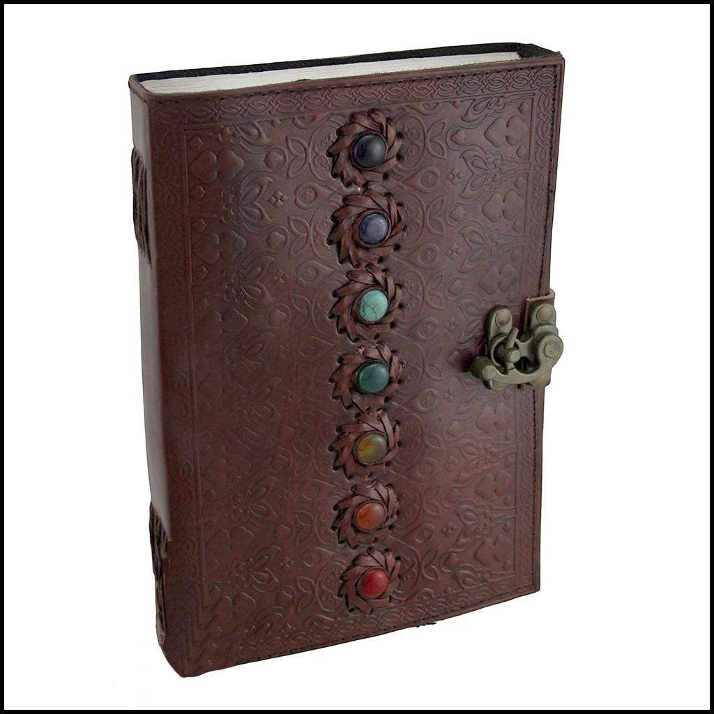 7 Stone Goat Leather Diary