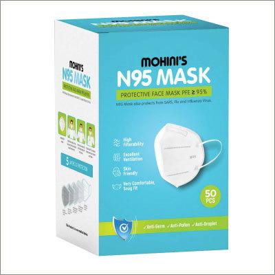 N95 50 Pcs Protective Face Mask