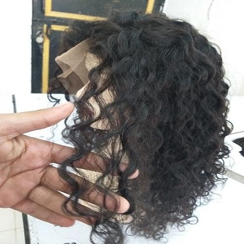 Natural Loose Curly Human Hair Wig