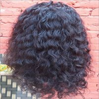 Full Lace Raw curly human hair wig