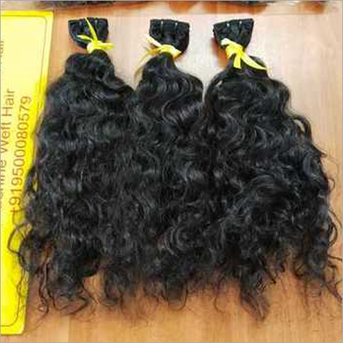 Raw Temple Natural Brown Hair Extension