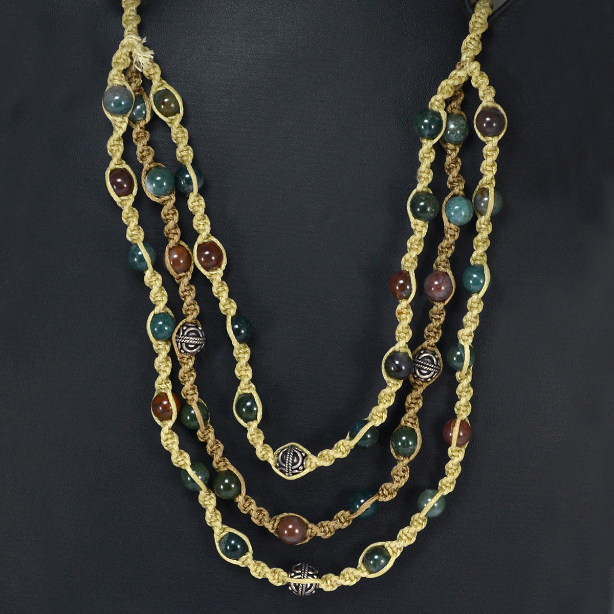 Multi Agate Necklace PG-156404