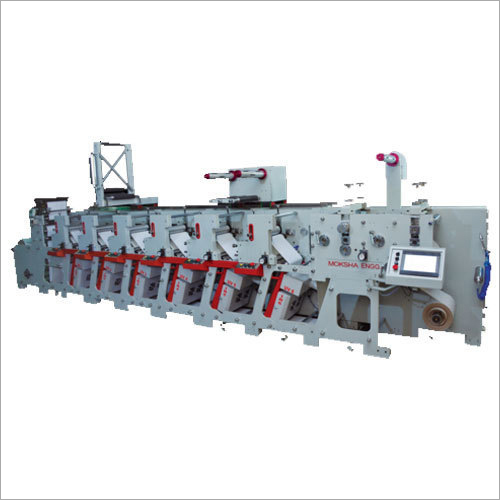 Sticker Label Flexo Printing Machine