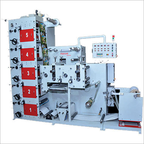 Stacked Flexographic Printing Machine