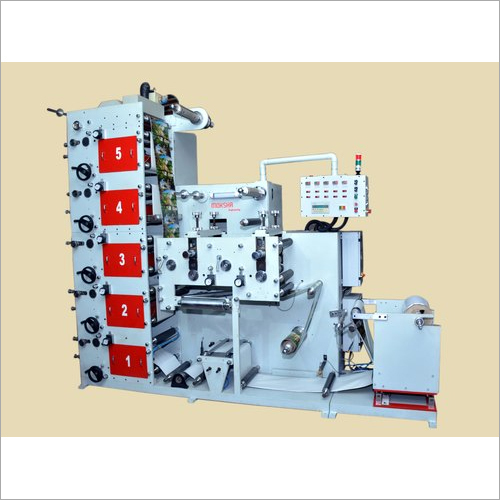 Stacked Flexo Graphic Printing Machine