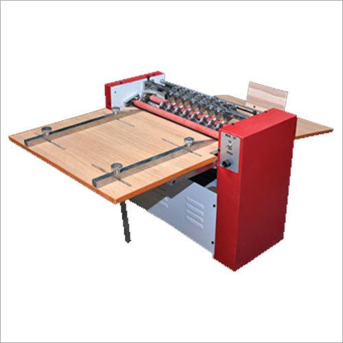 Half Cutting Creasing And Perforating Machine