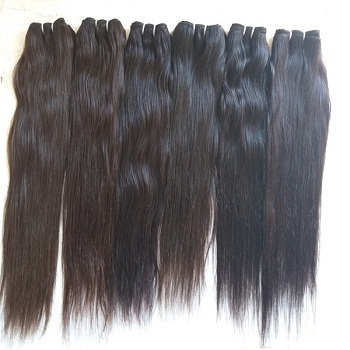 Top Quality Wholesale price Virgin Human Hair ,Natural Color Indian Human Straight hair