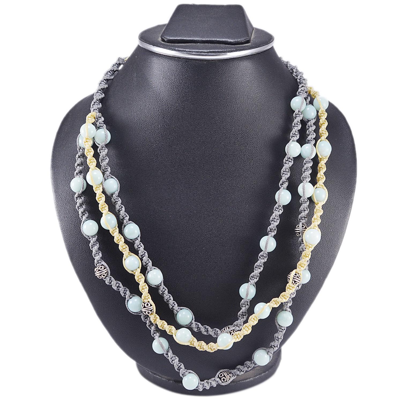 Amazonite Gemstone Necklace PG-156405
