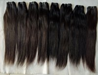 Wholesale Price No Tangle No Shedding ,Remy Virgin straight human hair with forntal