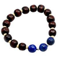 Lapis Lazuli Gemstone Bracelet PG-156421