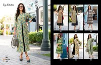 100Miles Eye Catcher Double Layered Long Kurta Suppliers