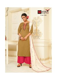 12Angel Silicone Cotton Embroidery Kurtis