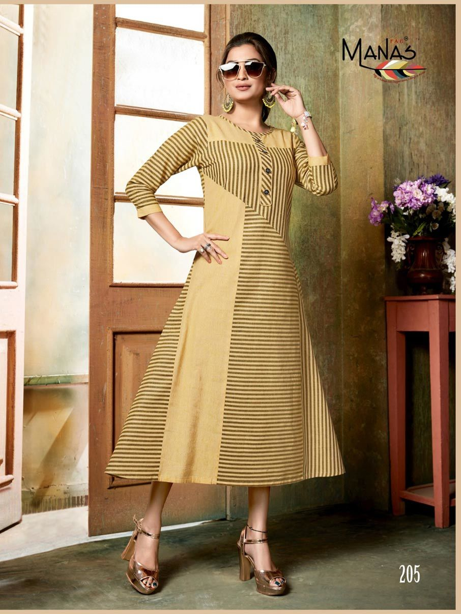 Aaheli Manas Handloom Cotton Wholesale Kurti