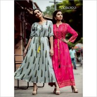 AAKARA ECO Volume 6 Rayon Spendex Classic Look Kurtis Collection