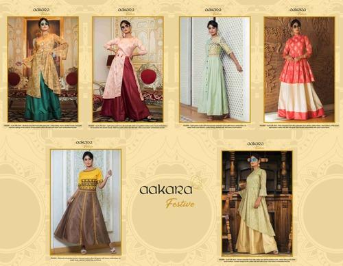 Aakara Festive Volume 2 By Aakara Festive Kurti with Skirt Catalog