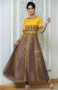 Aakara Festive Volume 2 By Aakara Festive Kurti with Skirt