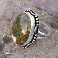 Rhyolite Silver Ring PG-156611