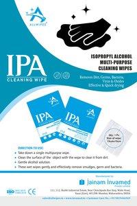 Isopropyl Alcohol Sanitizing Wipes(15 X 15 Cms)