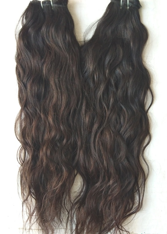 Vintage Wavy Tangle Free Premium Quality Human Hair