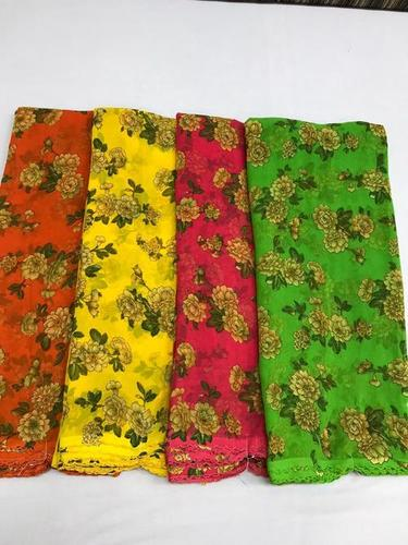Indian Printed Saree