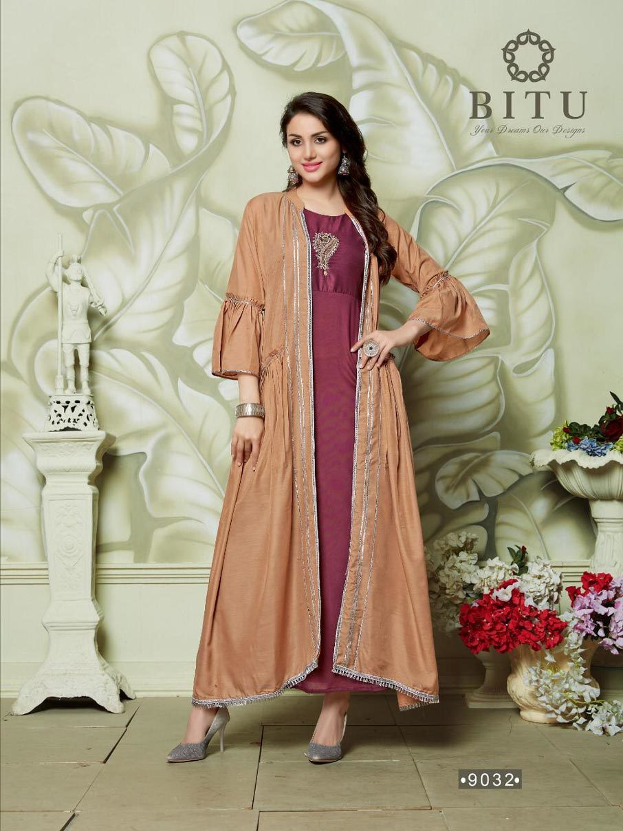 Auto-Graph Bitu Handwork Designer Indian Kurta