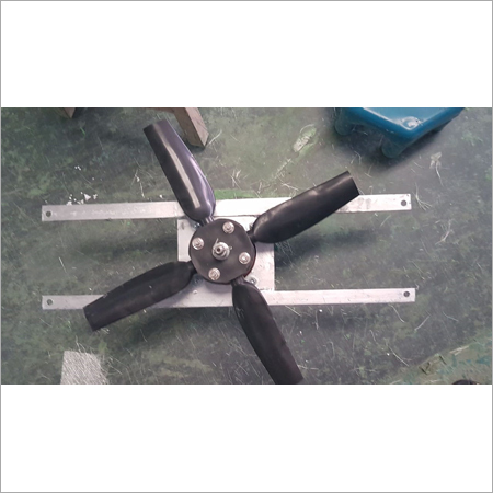 Plastic fan for cooling tower