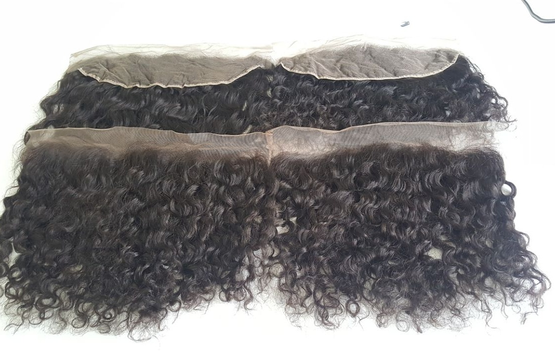 HD Lace Frontal/closure Brazilian Remy Hair Pre Plucked lace Frontal