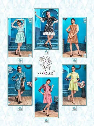 Baavari Ladyview Cotton Handloom Short Kurti