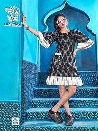 Baavari Ladyview Cotton Handloom Short Kurti