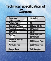 MATE Air Purifier - Model- SERENE