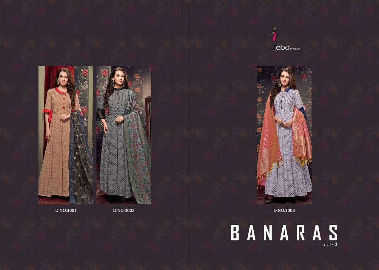 Banaras Vol-3 Eba Lifestyle Handloom Cotton Kurtas