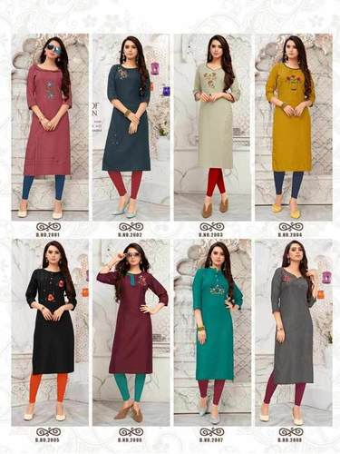Banwery Blend Vol-2 Cotton Kurtis Catalog