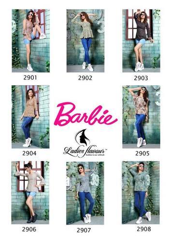 Barbie Ladies Flavour Launch Alpine Print Tops Catalog