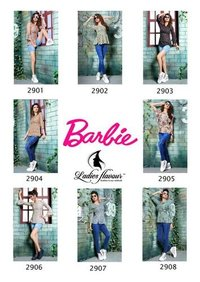 Barbie Ladies Launch Alpine Print Tops