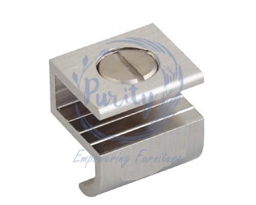 Brass glass knob