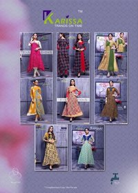 Beauty Icon Karissa Rayon Print Kurtis Collection