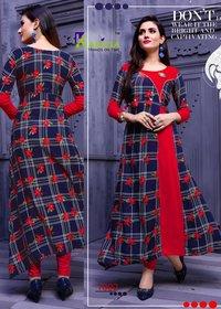 Beauty Icon Karissa Rayon Print Kurti