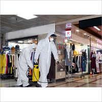 Mall Sanitization Service